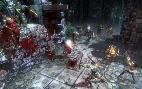 Un paragraphe complet est consacré au gameplay de Blood Knights un RPG allemand