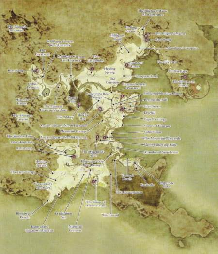 Voici un apercu de la carte Dragon dogma