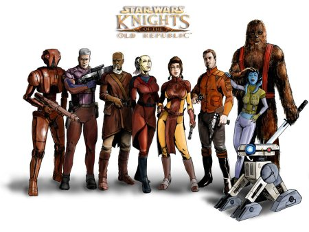Artwork sur les personnages de Star Wars The Old Republic avec ou sans abonnement