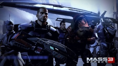 Tests et review sur la saga Mass Effect et ses DLC