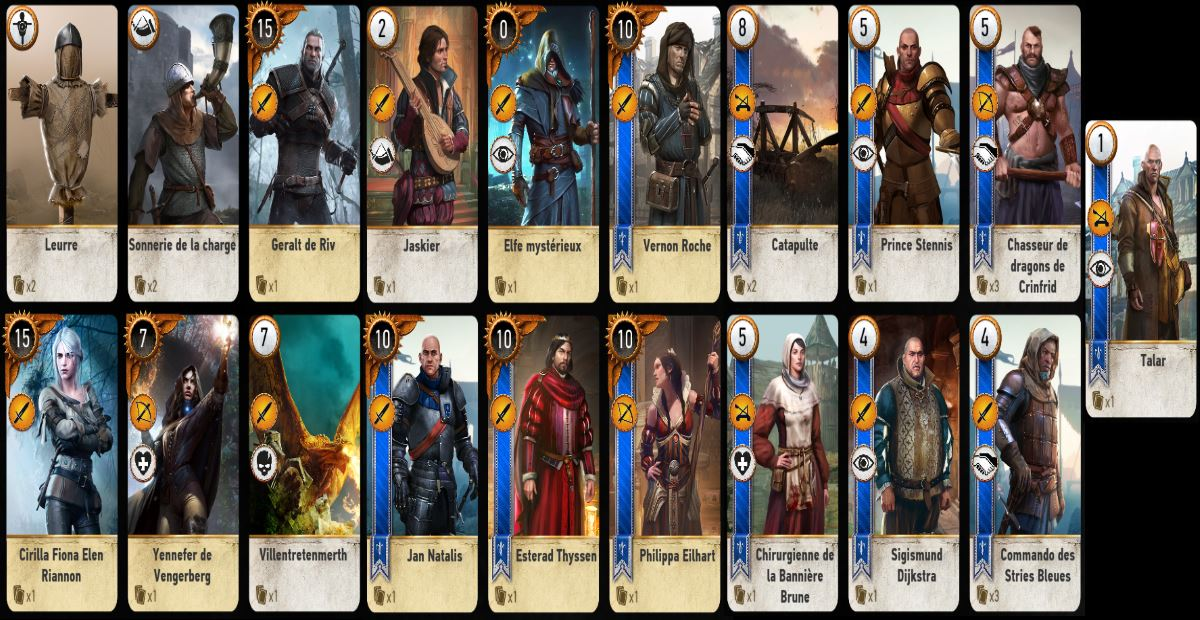 astuce gwint the witcher 3