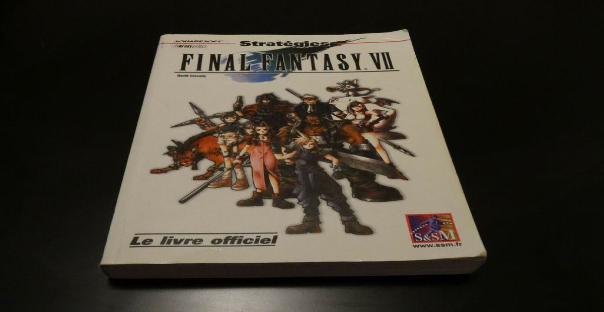 guide officiel FF7